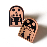 Cyclobe Phantomcode Enamel badges